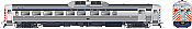 Rapido 16602 HO Budd RDC 2 - DC/DCC/Sound - Alaska RR (Phase 1b) #712