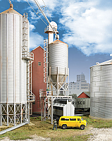 Walthers 2935 HO Cornerstone Grain Surge Bin