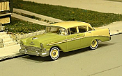 Sylvan Scale Models 296 HO Scale - 1956 Chevy Bel Air Four Door Sedan - Unpainted and Resin Cast Kit
