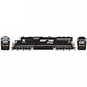 Athearn 70611 HO SD70 DCC & Sound Norfolk Southern/Horse head #2542