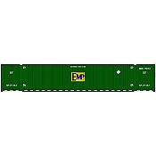 Atlas 20005946 HO 53ft CIMC Container Set, EMP Conspicuity Set #2