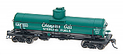 Intermountain Railway ACF Type 27 Riveted 8,000 Gallon Tank Car - Champion Oils / Sterling Fuel #6003