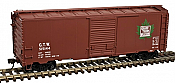 Atlas Master Line HO 20 004 244 40 Ft Postwar Box Car with 7 Ft Door, Grand Trunk Western #515144