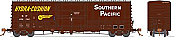 Rapido 137002-F HO Scale - B-100-40 Boxcar: Southern Pacific - Delivery - Single Car #656439