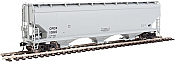 Walthers Mainline - 7618 HO 60 ft NSC 5150 3-bay Covered Hopper - CRDX #13844