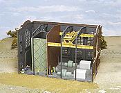 Walthers Cornerstone 3130 - HO Interior Kit for Northern Light & Powerhouse Kit