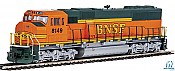 Walthers Mainline 19716 - HO EMD SD60M w/2-Piece Windshield - ESU DCC/Sound - BNSF Railway #8186