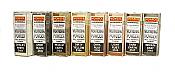 Monroe Models 3100 - Colored Weathering Powder Assortment - 8 Colors (1oz each)