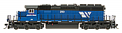 InterMountain 49363S-01 HO Diesel EMD SD40-2 ESU LokSound DCC Montana Rail Link #250