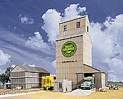 Walther's Cornerstone Valley Growers Association Steel Grain Elevator