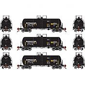 Athearn Genesis G17885 HO - 13K Gallon Acid Tank - Procor (3pk)