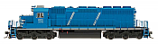 InterMountain 49371S-01 HO Diesel EMD SD40-2 ESU LokSound DCC - First Union Rail Leasing CEFX #3176