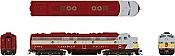 Rapido 28514 HO - EMD E8A (DC/DCC/Sound) Canadian Pacific - Block Scheme: #1802