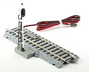 Kato Unitrack 2-601 - HO Automatic 3-Color Signal Track - 4-7/8in (123mm)
