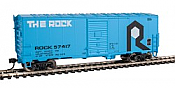 Walthers Mainline 1201 - HO 40ft AAR Modernized 1948 Boxcar - Rock Island #57425