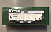 Bowser 41716 100Ton 3 Bay Hopper Detroit and Mackinac No. 5150