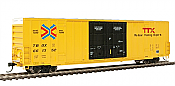 Walthers Mainline 2998 - HO 60ft Hi-Cube Plate F Boxcar - TTX/TBOX #661352