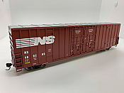 Walthers Mainline 2995 - HO 60ft Hi-Cube Plate F Boxcar - Norfolk Southern #469269