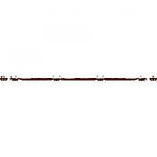 Athearn 15677 - HO RTR 57Ft Trinity Spine Car - 3 Car Set - BNSF #300589