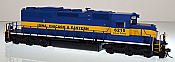 Bowser 24166 HO GMD SD40-2  Iowa, Chicago & Eastern ICE #6215 ESU LokSound DCC & Sound