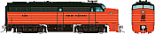 Rapido 37026 - HO Alco FA-1 - DCC Ready - New Haven (Orange Delivery) #0429