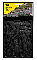 Woodland Scenics 1245 Creek Bank Rock Molds Set of 2