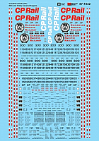 Microscale Decals 871532 HO Scale - Canadian Pacific (CP) - NSC and Trinity Covered Hoppers