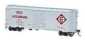 Intermountain Railway 45423-04 HO Pullman Standard 5277 Cu.Ft. Exterior Post Box Car - Erie Lackawanna 84435