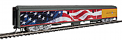 Walthers Proto 9205 - HO 85ft ACF Baggage Car - Union Pacific (American Flag Scheme)