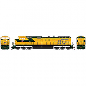 Athearn Roundhouse 78023 HO Chicago and Northwestern HO Dash 9-44CW, C&NW #8666