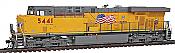InterMountain 49701-05 HO ES44AC Tsunami Non Sound Decoder Installed - Union Pacific No.5382