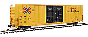 Walthers Mainline 2977 - HO 60ft Hi-Cube Plate F Boxcar - TTX TBOX #662180