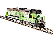 Broadway Limited Imports HO 4945 EMD SD9, BN #6024, Green and Black w/Paragon3 Sound/DC/DCC