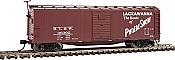 Walthers Mainline 40820 HO - 40 ft Rebuilt Steel Boxcar - Delaware, Lackawanna, & Western #36388