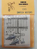 Juneco HO C-65 Dummy Switch Motors 2/pkg