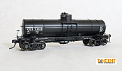 Tangent Scale Models 19015-04 HO - GATC 1917-design 8000 Gallon Tank Car - CGTX 1955+ Lease #8169