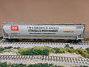 Atlas Model Railroad 20004277 - HO Trinity 5660 Covered Hopper - Conagra (Feeding America-2) #8177