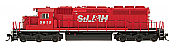 InterMountain 49367-01 HO Diesel EMD SD40-2 ESU LokPilot DCC - Saint Lawrence & Hudson #5615
