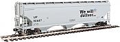 Walthers Mainline - 7621 HO 60 ft NSC 5150 3-bay Covered Hopper - Union Pacific UP #90687