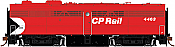 Rapido 22517 HO - DC/DCC/Sound - MLW FPB-2 CP Rail Multimark #4464 - Pre-order