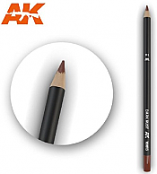 AK Interactive 10013 - Weathering Pencils - Dark Rust (5/Box)