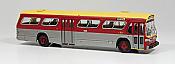 Rapido 751062 - HO New Look Bus - Toronto Transit Commission (Maroon Scheme) #8111 - Deluxe