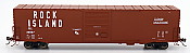 Intermountain 46918-05 HO Scale - 60Ft PS-1 Boxcar - Rock Island #33943
