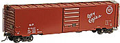 Kadee 6412 HO - PS1 50 Ft Boxcar with 8 Ft Door - Ready to Run - Missouri Pacific #81840