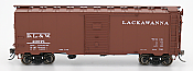 Intermountain 45798-04 HO Scale - 1937 AAR 40Ft Boxcar - Delaware, Lackawanna & Western #49262