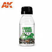 AK Interactive 118 Gravel and Sand Fixer Enamel 100ml