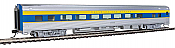 WalthersMainline 30014 - HO Scale RTR 85ft Budd Large-Window Coach - Delaware & Hudson