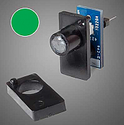 Walthers 154 HO, N, Z, S, O - Walthers Layout Control System - Single Color LED Fascia Indicator (Green)