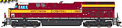 Intermountain 497113S-01 - HO ET44 Tier 4 - DCC & Sound - CN Heritage/Wisconsin Central #3069