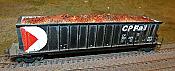 Intermountain Railway 81652 HO Motrak Models Bathtub Gondola - Scrap Metal Load - 1 pc.